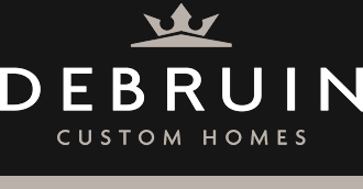 Debruin custom homes logo